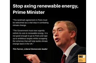 Farron on Green Cuts