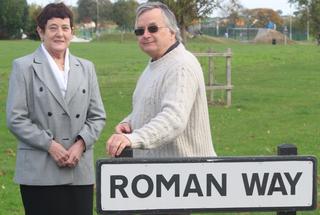 BC and LG at Roman Way