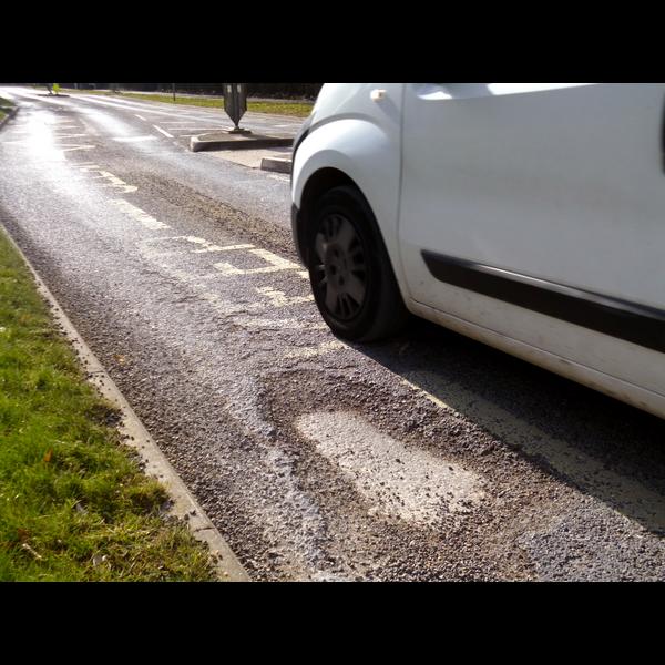 Sullivan Road pothole