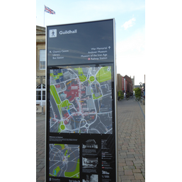 Guildhall Town Map